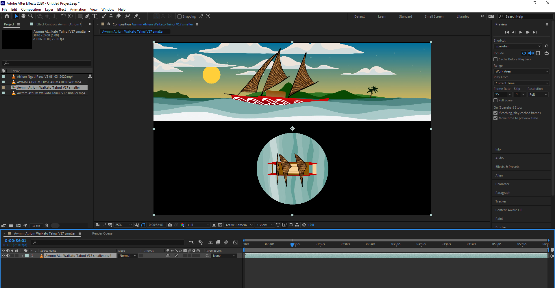Adobe After Effects 2020 Y AWMM ATRIUM ARCHIVE kato Tainui MASTER 13 01 2021 Awmm Atrium Waikato Tainui timeline V32 aep 23 03 2021 1 03 13 PM